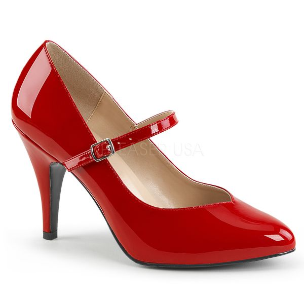 Mary Jane Pumps rot Lack DREAM-428